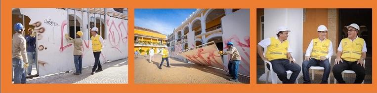 A UN MES LA ENTREGA DEL RESTAURADO PALACIO DE LA PROCLAMACIÓN