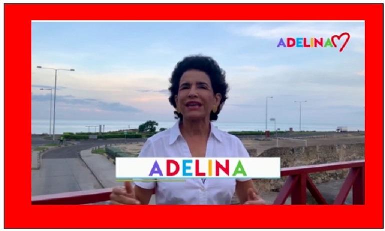 """ADELINA: """"ESTÁN VERDES CUANDO ALCANZAR LAS UVAS NO PUDO"""""""