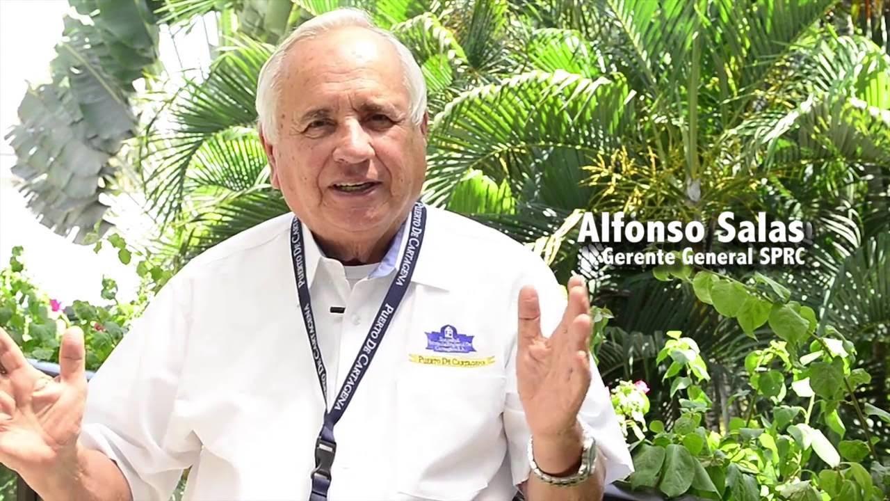 Alfonso Salas Trujillo, capitan por   siempre del primer puerto de Colombia