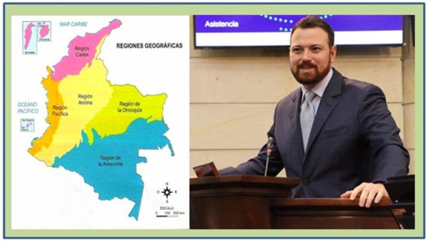 APROBADO EN TERCER DEBATE DE CÁMARA PROYECTO DE LEY  DE REGIONES
