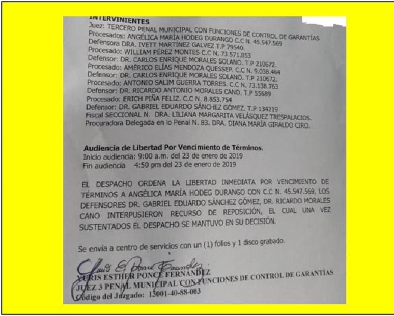 ARGUCIA DE LOS ABOGADOS O INEPTITUD DE LA FISCALIA