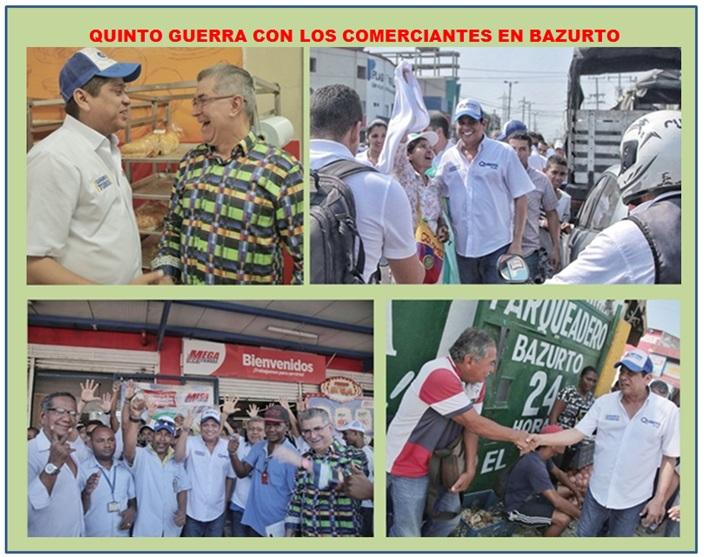 BAZURTO Y EL ZAPATERO CON QUINTO GUERRA