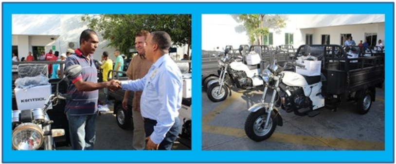 CAMBIO BURROS Y CABALLOS VIEJOS POR MOTOCARRO NUEVO