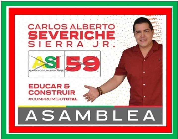 CARLOS SEVERICHE, EDUCAR Y CONSTRUIR SU COMPROMISO EN LA ASAMBLEA