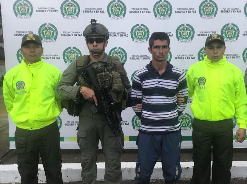 CAYO CABECILLA CRIMINAL DISIDENTE DE LAS FARC