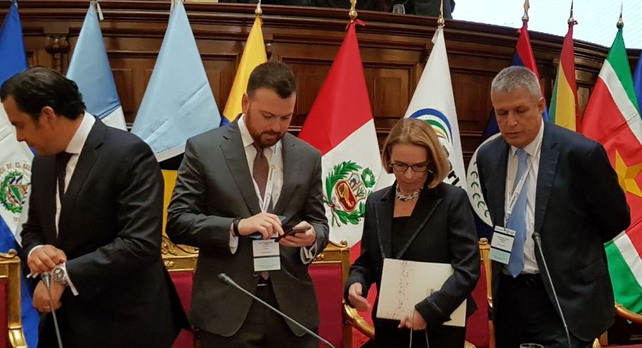 COLOMBIA PRESENTE EN MESA DIRECTIVA DE PARLAMERICAS