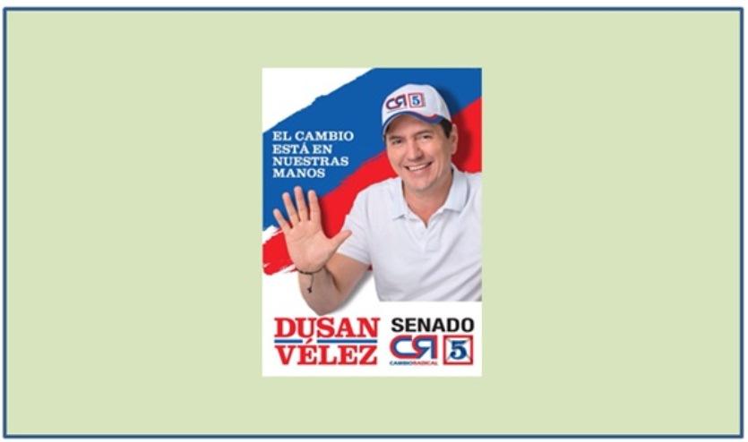 """COMO EN UNA """"FUNCION DE CIRCO"""", ASUME HOY POR 30 DIAS DUSSAN VELEZ COMO SENADOR"""