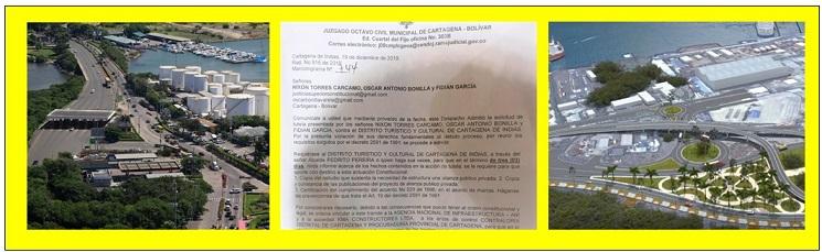 CON TUTELA INTENTAN FRENAR CORREDOR PORTUARIO Y QUINTA AVENIDA