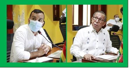CONCEJALES NIÑO Y PIÓN MADRUGARON A PRESENTAR PROYECTOS
