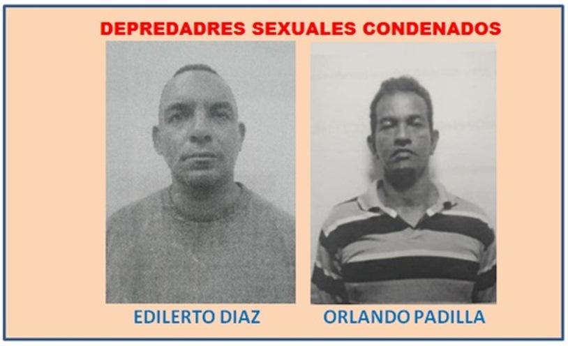 CONDENADOS A 19 Y 20 AÑOS DE CARCEL DOS DEPREDADORES SEXUALES CON MENORES DE EDAD