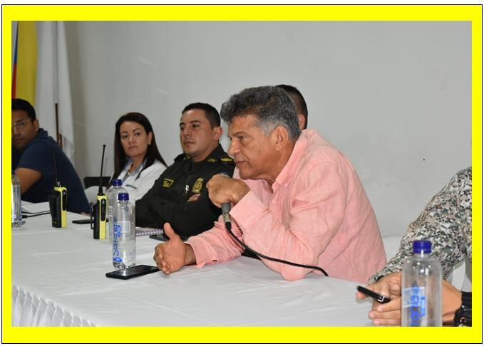 CONSEJOS COMUNITARIOS DE SEGURIDAD, ACERCAMIENTO DEL GOBIERNO DAU