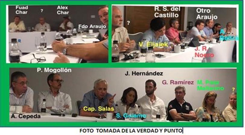CUMBRE  EMPRESARIAL O ENCERRONA POLÍTICA, LOS CHAR SE FUERON MOLESTOS