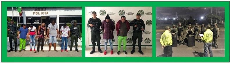 """DESARTICULADA EN CARTAGENA BANDA CRIMINAL  """"LOS PACHENCA"""""""