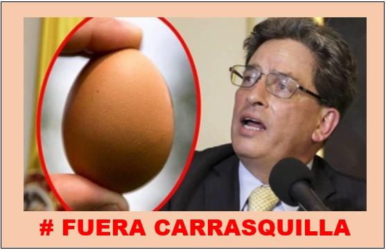 """""""EL MINISTRO CARRASQUILLA DEBE SALIR DEL GOBIERNO"""""""