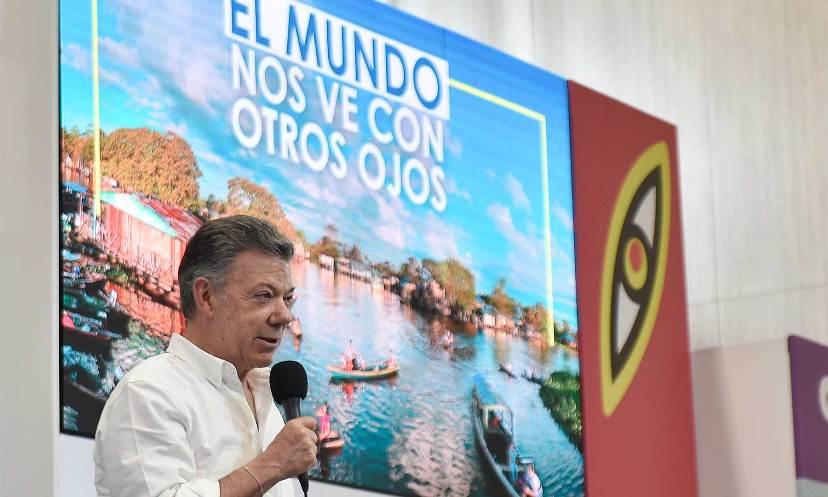 EL TURISMO: MAYOR GENERADOR DE DIVISAS AL PAIS, AFIRMÓ EL PRESIDENTE SANTOS