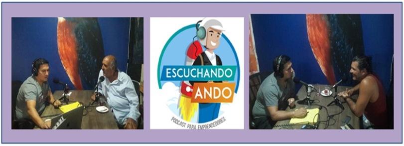 """""""ESCUCHANDO ANDO"""", PLATAFORMA PODCAST PARA EMPRENDEDORES"""