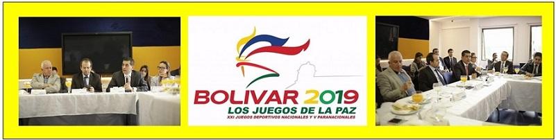 FIRMES Y SEGUROS LOS JUEGOS NACIONALES  2019