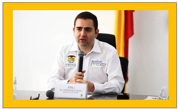 GOBERNADOR BLEL PIDE SUSPENDER COBRO DE SERVICIOS PÚBLICOS
