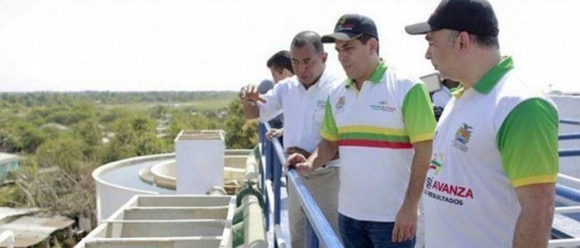 GOBERNADOR REALIZA HOY RECORRIDO POR OBRAS DE AGUAS EN EL CENTRO DE BOLÍVAR