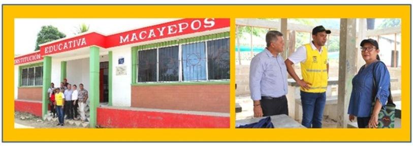 GOBIERNO DE BOLÍVAR ENTREGÓ 300 KITS ESCOLARES EN MACAYEPOS