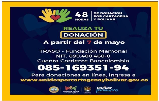 HOY ARRANCA LA GRAN DONATÓN 48 HORAS POR BOLÍVAR