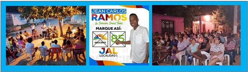JEAN CARLOS RAMOS, TRABAJO Y DEDICACIÓN EN LA LOCALIDAD 1