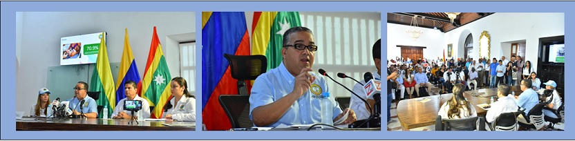 "¡..JUNTOS LO ESTAMOS LOGRANDO..!"":  PEDRITO PEREIRA EN INFORME DE 100 DIAS (1)"