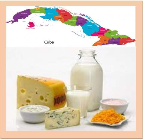 LACTEOS Y 10 PRODUCTOS MÁS, EXPORTACIÓN RUMBO A CUBA