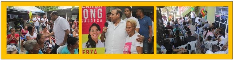 LEWIS MONTERO FIRME EN LOS BARRIOS DE CARTAGENA