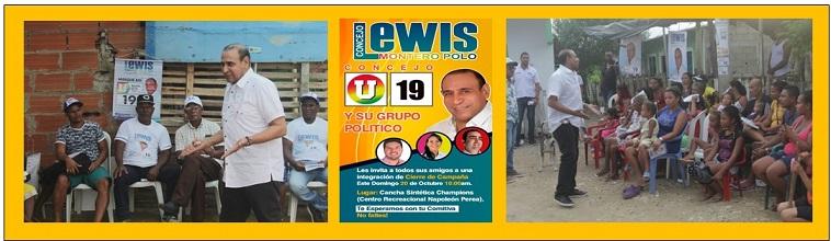 LEWIS MONTERO PREPARA CIERRE DE CAMPAÑA CON TODO