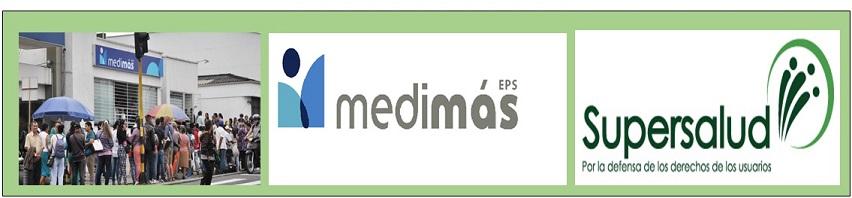 MEDIDAS CAUTELARES DE SUPERSALUD CONTRA MEDIMÁS