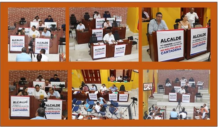 MENSAJE CONTUNDENTE DEL CONCEJO AL ALCALDE SOBRE FIRMA DE APP
