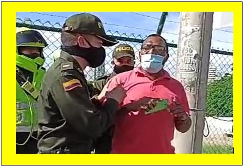 NUEVA VIOLACIÓN DE LA POLICIA AL DERECHO DE PROTESTA SOCIAL