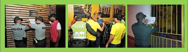 NUEVAS ACCIONES CONJUNTAS DE CONTROL A ESTABLECIMIENTOS NOCTURNOS