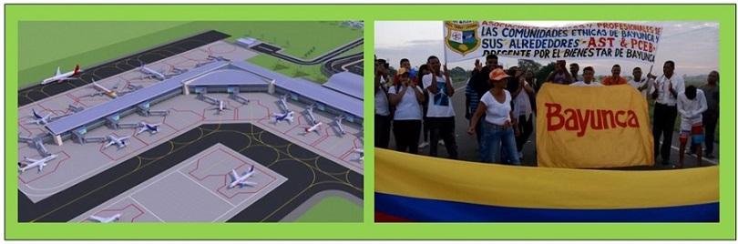 PLANTÓN Y PROTESTA HOY EN BAYUNCA POR DESCONOCIMIENTO DE ODINSA A LA COMUNIDAD RAIZAL
