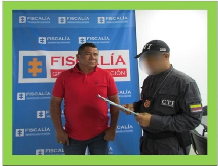 POR CONCUSIÓN CAPTURADO ALCALDE DE SANTA ROSA NORTE