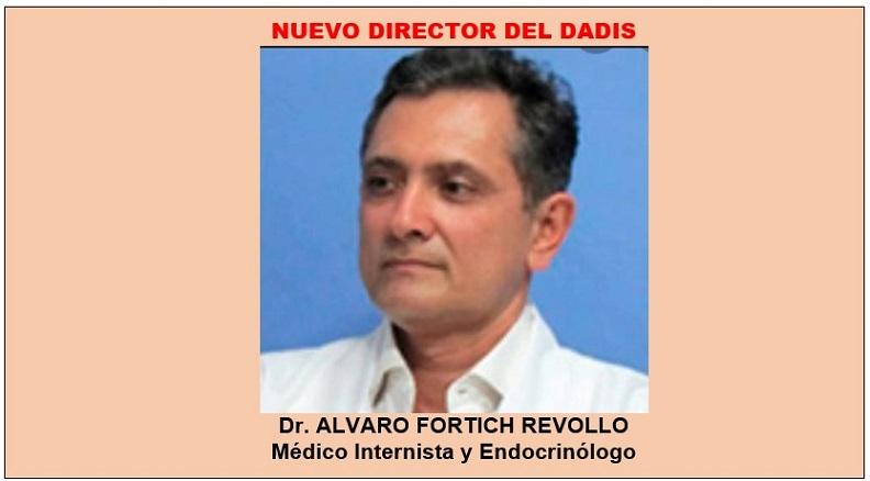 POR FALTA DE PERFIL SE FUE DIRECTOR DEL DADIS, NOMBRADO REMPLAZO