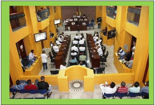 PRIMER PROYECTO DE ACUERDO DE LA ALCALDIA EN 28 DIAS DE SESIONES