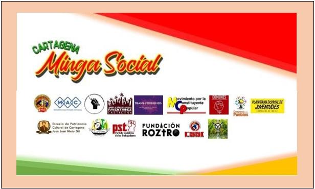 PROTESTA DE LA MINGA SOCIAL SE TOMA LA CORDIALIDAD HOY