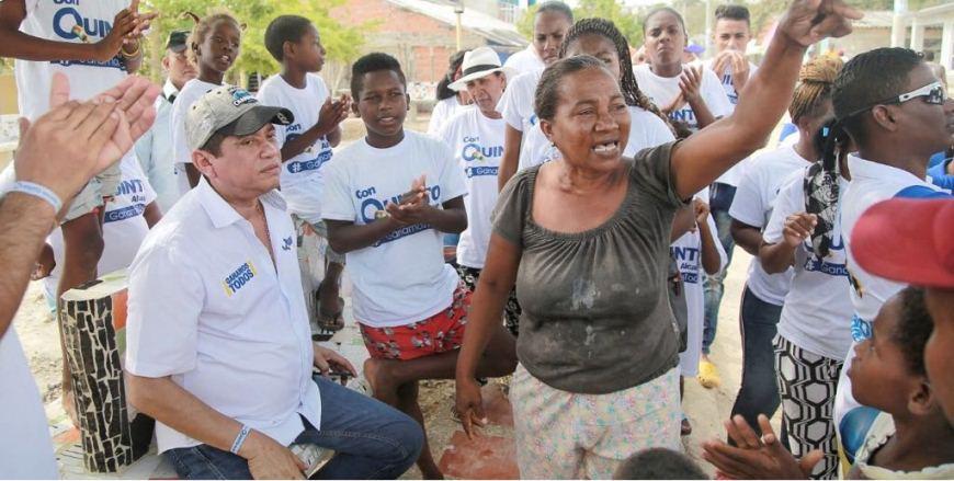 QUINTO GUERRA PROMETIO EL AGUA A TIERRA BOMBA CON UTILIZADES DE ACUACAR