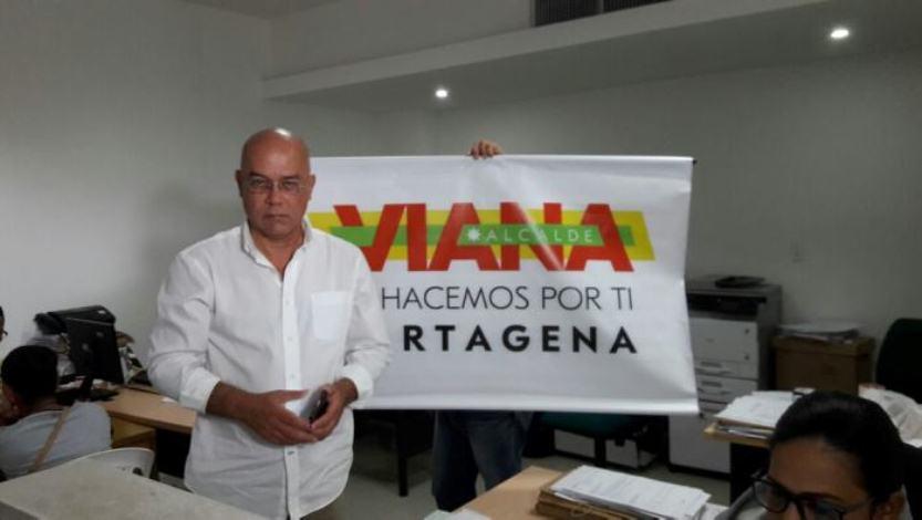 RENUNCIÓ EL CANDIDATO GERMAN VIANA