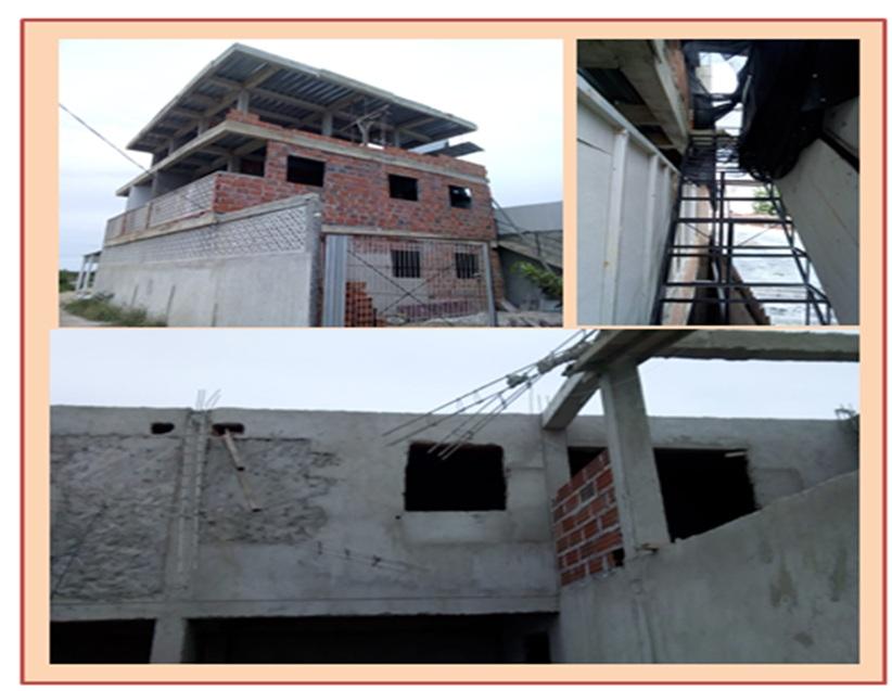 SE DESPLOMÓ CONSTRUCCION ILEGAL EN MANZANILLO CON  3 HERIDOS GRAVES
