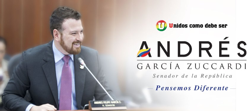 SENADOR ANDRES GARCIA CON INTENSA AGENDA EN EL CONGRESO