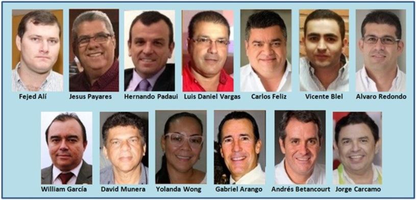 TORBELLINO POLÍTICO POR PROLIFERACIÓN DE ASPIRANTES A GOBERNACIÓN Y ALCALDÍA